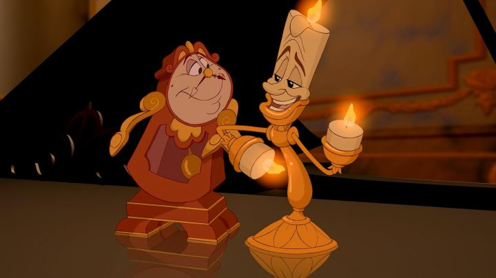 the chandelier in the cartoon beauty and The beast - Movie Outfits and Products