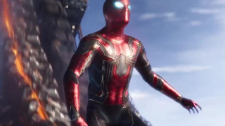 the costume of Spider-Man, Peter Parker (Tom Holland) in Avengers : Infinity War - Movie Outfits and Products
