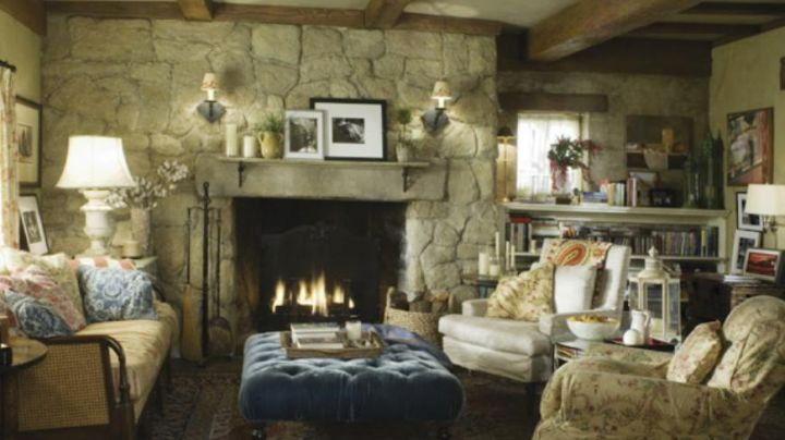 the cottage of Cameron Diaz in The Holiday - Movie Outfits and Products