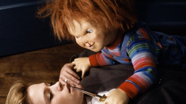 the doll Chucky in child's Play - Movie Outfits and Products