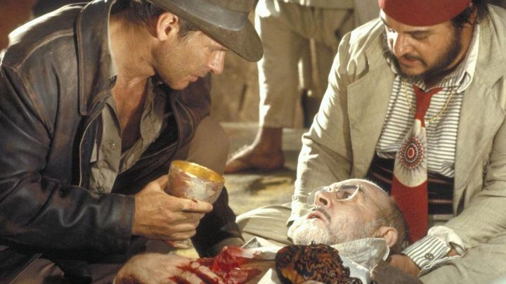 the holy grail in Indiana Jones and the last crusade - Movie Outfits and Products