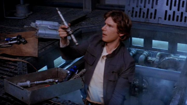 the hydrospanner of Han Solo (Harrison Ford) in Star Wars V : The empire strikes back - Movie Outfits and Products