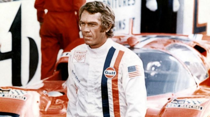 the jacket of driver Michael Delaney (Steve McQueen) in Le Mans movie