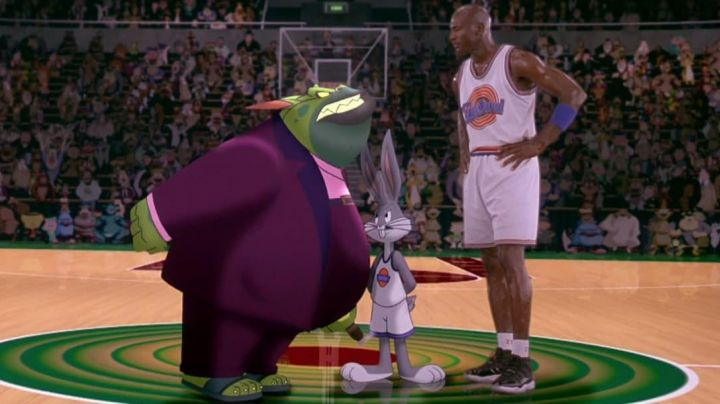the jordans 11, michael jordan in space jam - Movie Outfits and Products