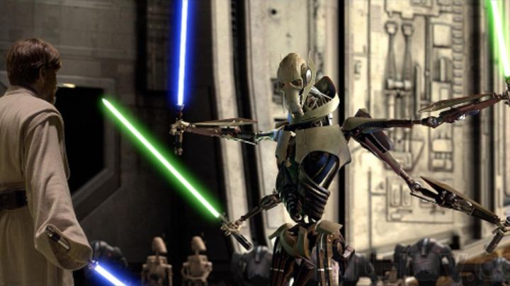 the mask of General Grievous in Star Wars I : The phantom menace - Movie Outfits and Products