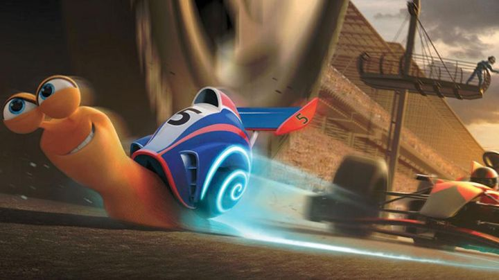 the model of Turbo the snail in the animated film Turbo - Movie Outfits and Products