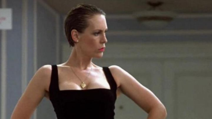 the necklace pendant heart of Wanda (Jamie Lee Curtis) in A fish called Wanda - Movie Outfits and Products