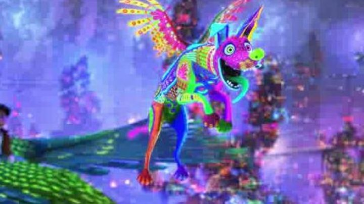 the  plush of Dante Alebrije in Coco - Movie Outfits and Products