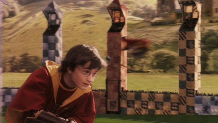 the pull of Quidditch from the house Gryffindor from Harry Potter (Daniel Radcliffe) in Harry Potter and the sorcerer's stone - Movie Outfits and Products