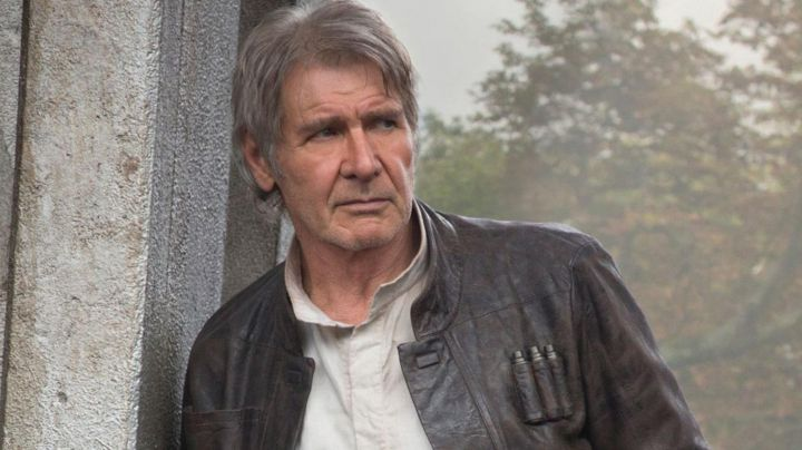Fashion Trends 2021: the real jacket of Han Solo (Harrison Ford) in Star Wars episode VII : The Awakening of the force