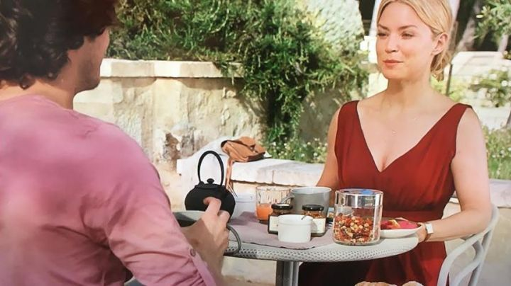 Fashion Trends 2021: the red dress of Diane (Virginie Efira) in A man at the height