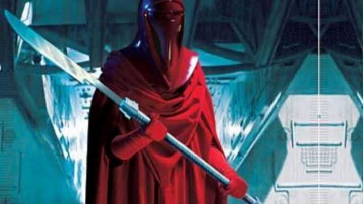 the red dress of the imperial guard in Star Wars VI : return of the Jedi - Movie Outfits and Products