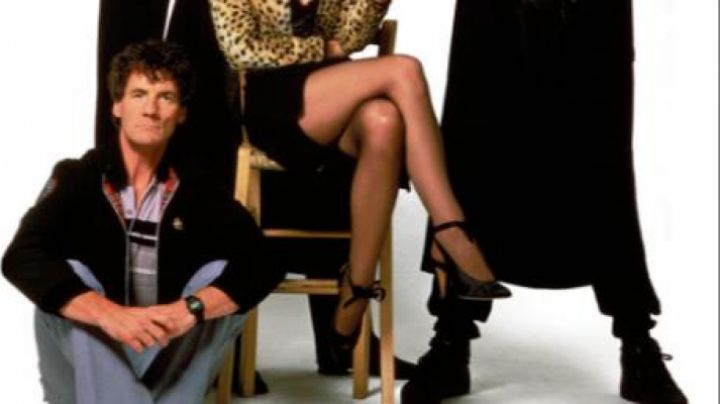the shoes of Wanda (Jamie Lee Curtis) in A fish called Wanda - Movie Outfits and Products