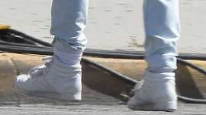 the sneakers are actually worn by Kristen Wiing in The brains - Movie Outfits and Products