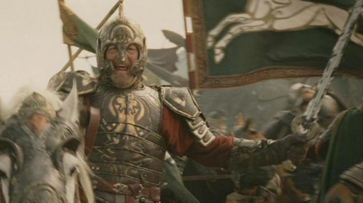 the sword Herugrim king Théoden (Bernard Hill) in The Lord of the rings : the Return of The king - Movie Outfits and Products