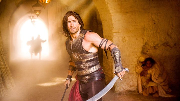 The sword of the Prince Dastan (Jake Gyllenhaal) in Prince of Persia - The sands of time movie