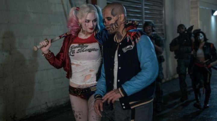 the t-shirt of Harley Quinn ( Margot Robbie ) version rounds in Suicide Squad movie