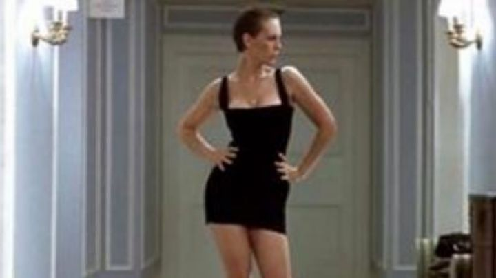Fashion Trends 2021: the tight dress of Wanda (Jamie Lee Curtis) in A fish called Wanda