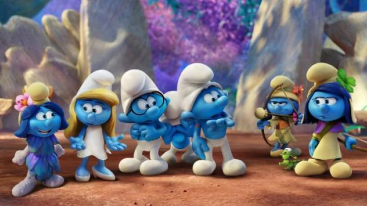 the tights Schtroumpfette in The Smurfs and the lost village - Movie Outfits and Products