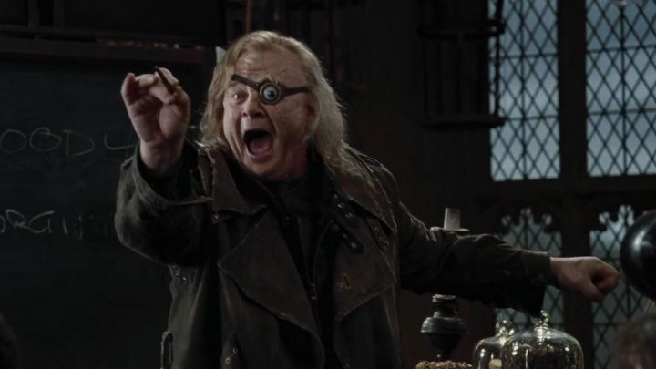 the wand of Alastor Maugrey said Mad Eye (Brendan Gleeson) in Harry Potter and the goblet of Fire movie