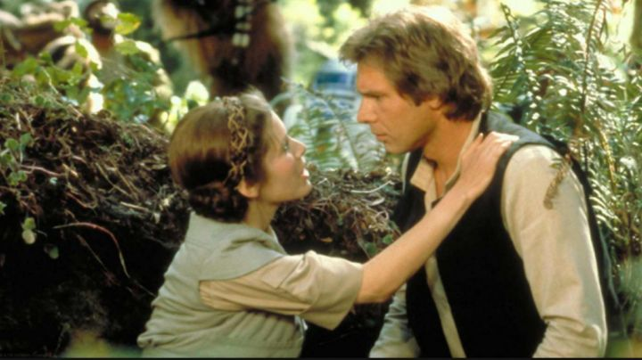 the wig in braids of Princess Leia (Carrie Fisher) in Star wars - Movie Outfits and Products