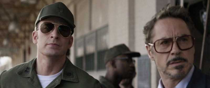 Ray-Ban Sunglasses Worn by Chris Evans Avengers: Endgame - Movie Outfits and Products
