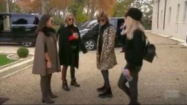 50's Crewneck Jumper by Re/Done outfit worn by in The Real Housewives of Beverly Hills (Season09 Episode18) - TV Show Outfits and Products