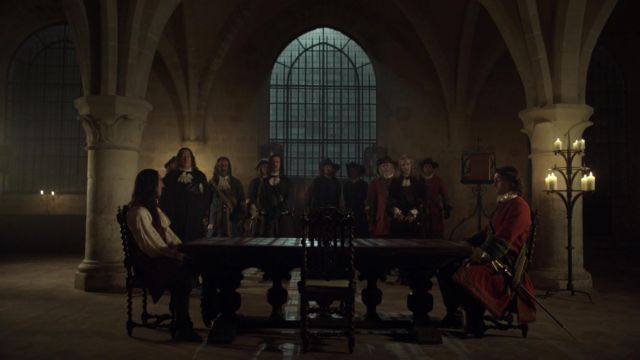 Fashion Trends 2021: Abbey of Royaumont in the Val-d Oise in Versailles Season 2 Episode 7