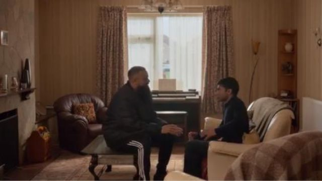 Adidas Black Essential 3-Stripes Pants outfit worn by Basheer (Guz Khan) in Four Weddings and a Funeral Season 1 Episode 7 - TV Show Outfits and Products