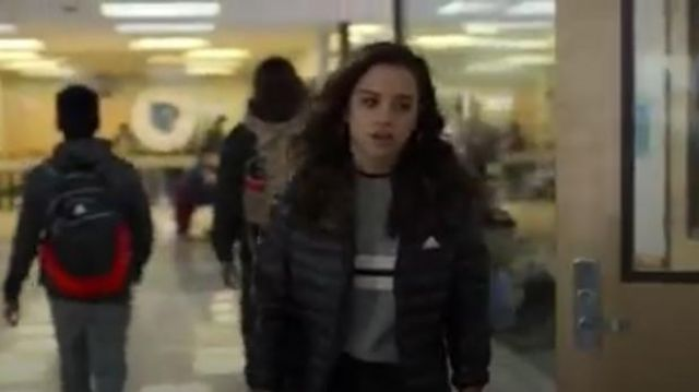 Adidas Women's adidas Varilite Hooded Jacket outfit worn by Moe Truax (Kiana Madeira) in Trinkets (S01E10) - TV Show Outfits and Products