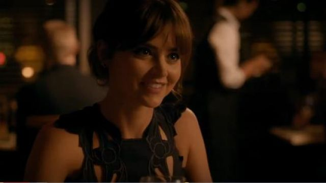 Alice McCall Sea Rose Dress with Cutwork outfit seen on Clara (Jenna Coleman) in Doctor Who (S08E04) - TV Show Outfits and Products