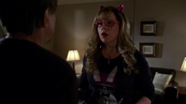 Alice + Olivia Jewel Bunny Sweater outfit worn by Penelope Garcia (Kirsten Vangsness) in Criminal Minds (S10E12) - TV Show Outfits and Products