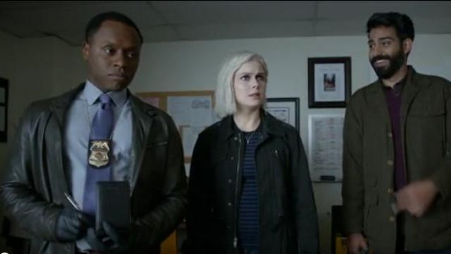 All Saints Frame Leather Biker Jacket outfit worn by Olivia Moore (Rose McIver) in iZombie (S05E07) - TV Show Outfits and Products