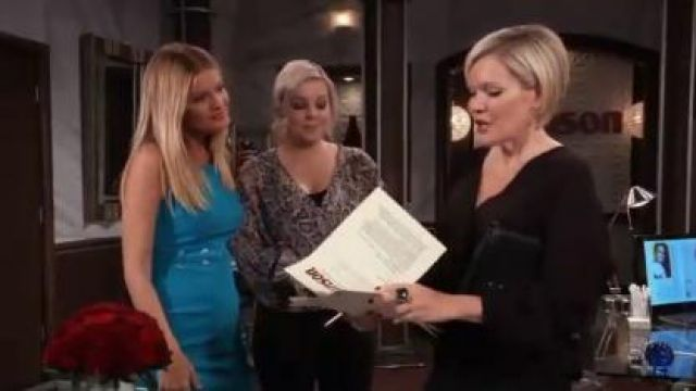 All Saints Penny Misra Top outfit worn by Kirsten Storms as seen in General Hospital June 12,2019 - TV Show Outfits and Products