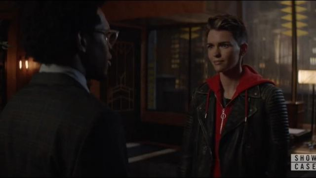Allsaints Black Leather Jacket outfit worn by Kate Kane (Ruby Rose) in Batwoman Season01 Episode06 - TV Show Outfits and Products