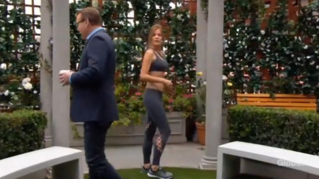Alo Yoga Entwine Leggings outfit worn by Phyllis Summers (Michelle Stafford) as seen in The Young and the Restless JULY 8