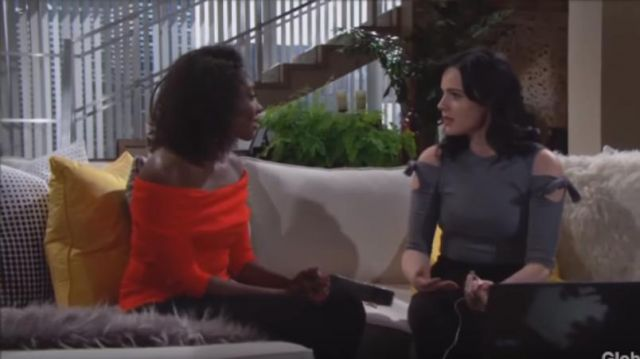 Anthropologie Rosiers Top outfit worn by Ana Hamilton (Loren Lott) as seen in The Young and the Restless May 24, 2019 - TV Show Outfits and Products