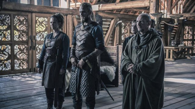 Armor viking Brida (Emily Cox) seen in The Last Kingdom Season 2 Episode 4 - TV Show Outfits and Products