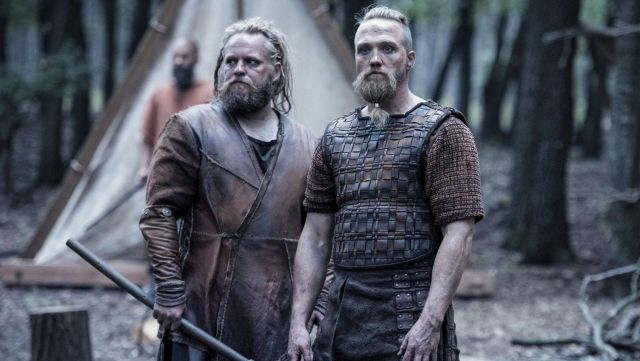 Armor viking Erik (Christian Hillborg) seen in The Last Kingdom Season 2 Episode 4 - TV Show Outfits and Products