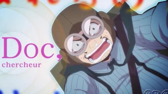Aviator goggles of the Doc in Radiant (anime 2018) - TV Show Outfits and Products