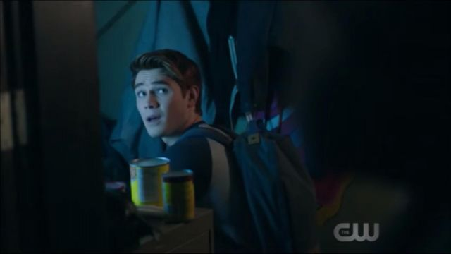 Fashion Trends 2021: Backpack-blue Archie Andrews (KJ Apa) seen in Riverdale