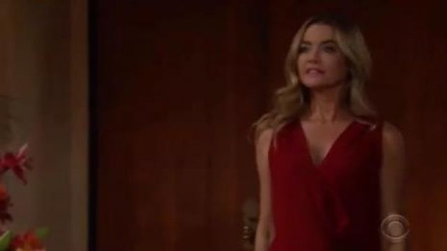 Bailey 44 Amber Sleeveless Top outfit worn by Shauna Fulton (Denise Richards) as seen on The Bold and the Beautiful November 7, 2019 - TV Show Outfits and Products