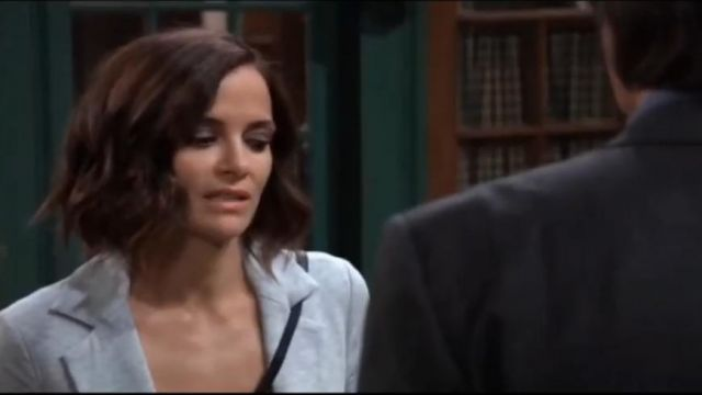 Bailey 44 Jane Blazer outfit worn by Hayden Barnes (Rebecca Budig) as seen on General Hospital October 10, 2019 - TV Show Outfits and Products