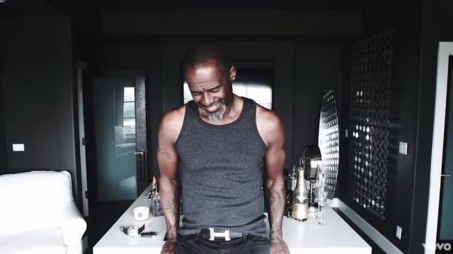 Belt Hermes in the clip Forever Brian McKnight - Youtube Outfits and Products