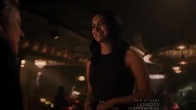 Black Bria Dress outfit worn by Veronica Lodge (Camila Mendes) in Riverdale Season 4 Episode 5 - TV Show Outfits and Products