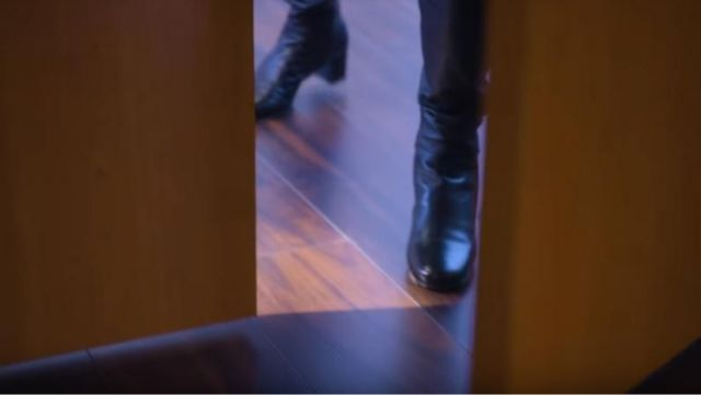 Black boots outfit worn by Annalise Keating (Viola Davis), in Murder Season 5 Episode 1 - TV Show Outfits and Products