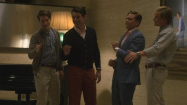 Black cardigan Phil (Nate Craig) seen in Maniac (Season 1 Episode 1) - TV Show Outfits and Products