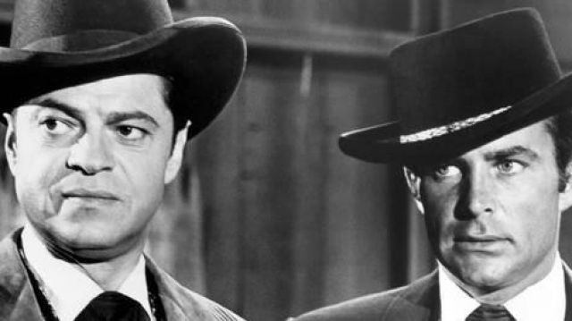 Black hat of James T. West (Robert Conrad) seen in The Mysteries of the West - TV Show Outfits and Products