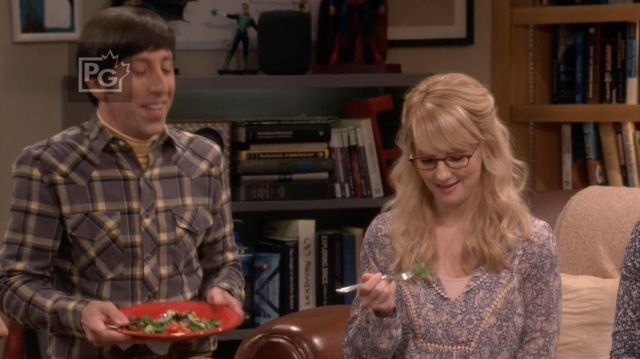Blouse Daniel Rainn scope by Bernadette Rostenkowski (Melissa Rauch) The Big Bang Theory S12 Episode 2 - TV Show Outfits and Products