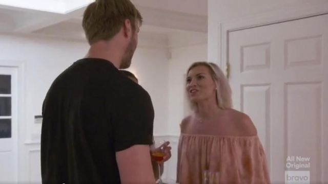 Blue Life Pandora Ruffle Jumpsuit outfit worn by Lindsay Hubbard in Summer House (S03E12) - TV Show Outfits and Products